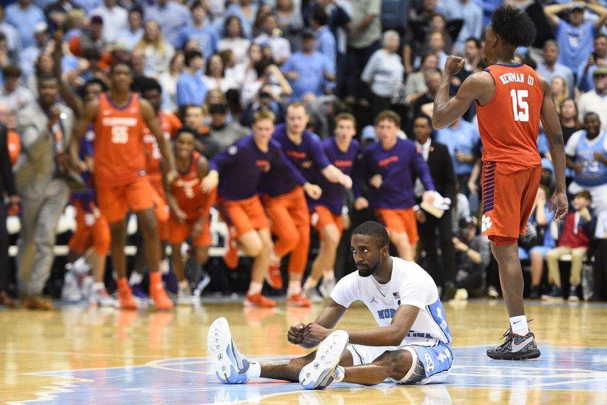 NCAA Basketball: Clemson at North Carolina