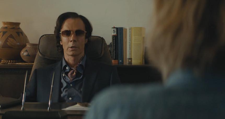 The psychiatrist on True Detective.