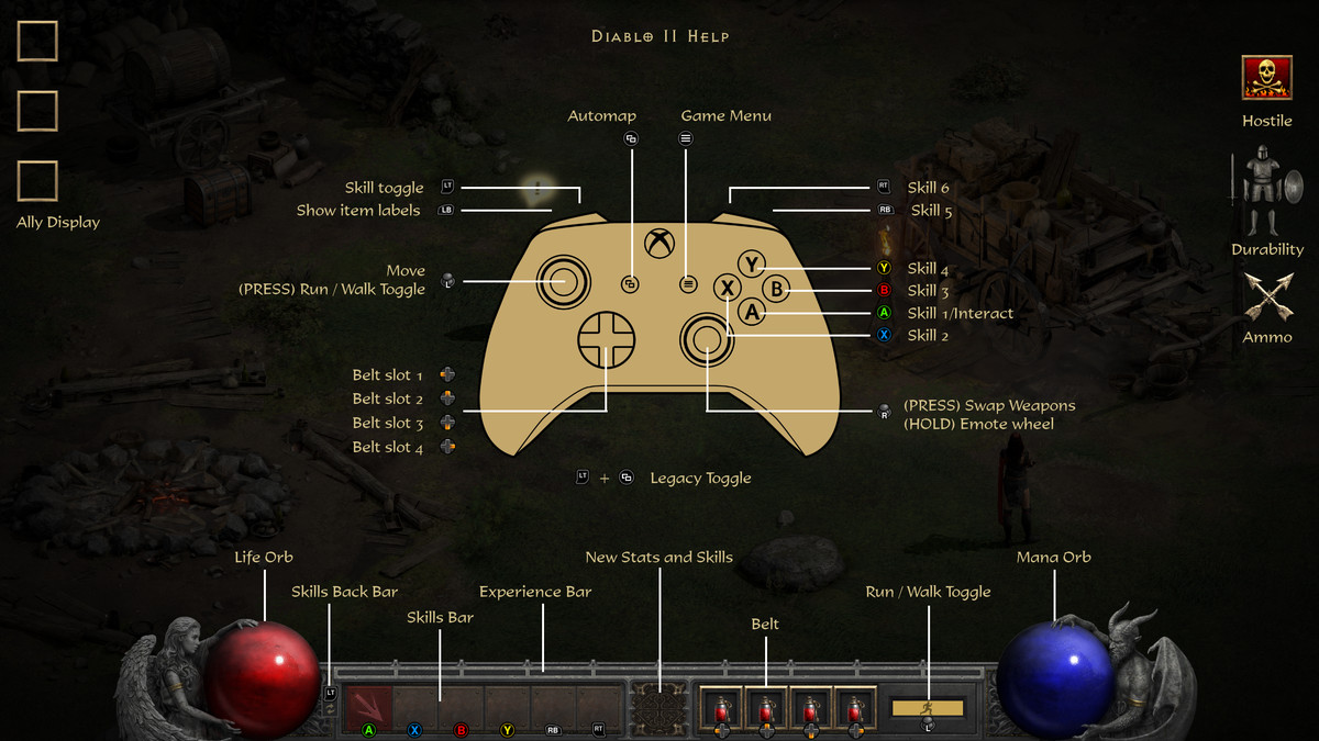Turn on Legacy Graphics – Diablo 2 Resurrected guide