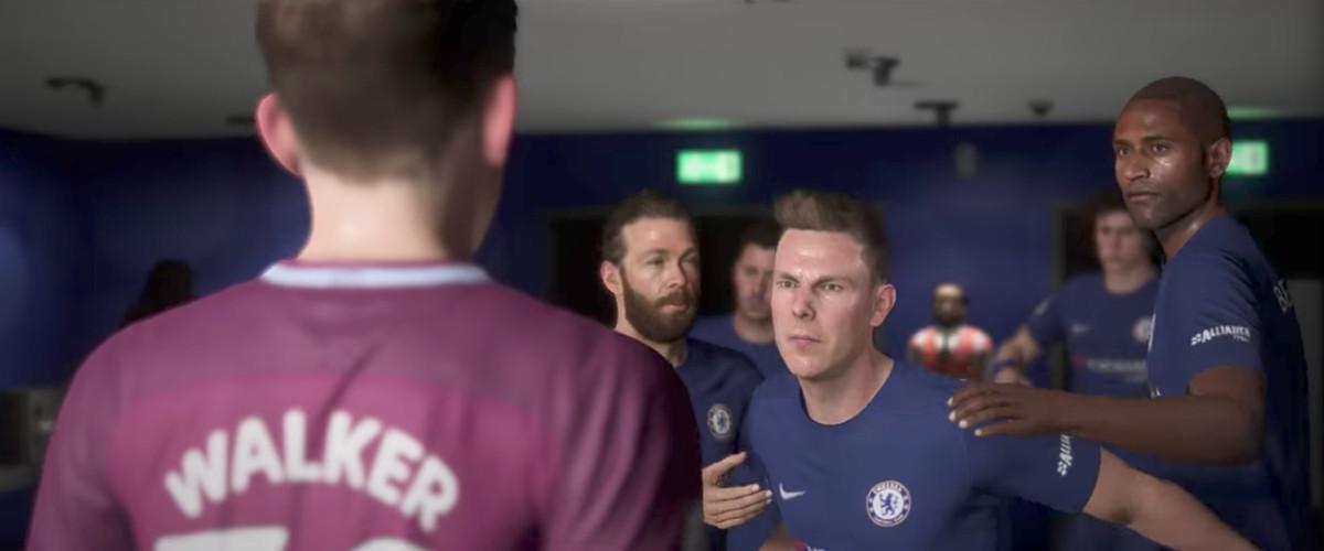 Gareth Walker vs. Danny Williams, FIFA 18 The Journey: Hunter Returns