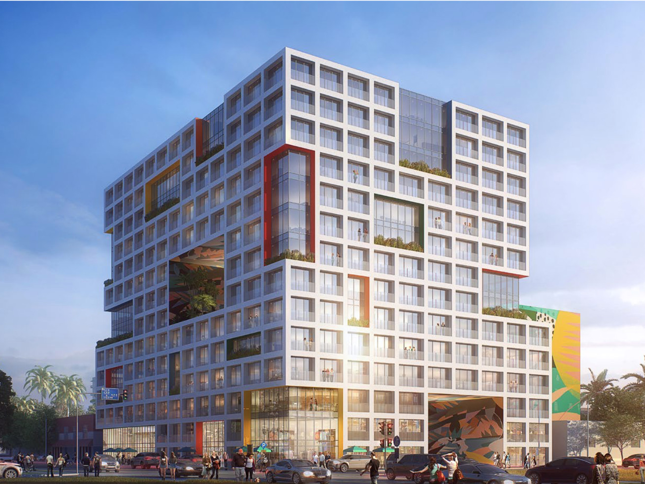 A conceptual rendering showing what the new development at NW 2nd&nbsp;Avenue and 29th&nbsp;Street <em>could</em> look like.