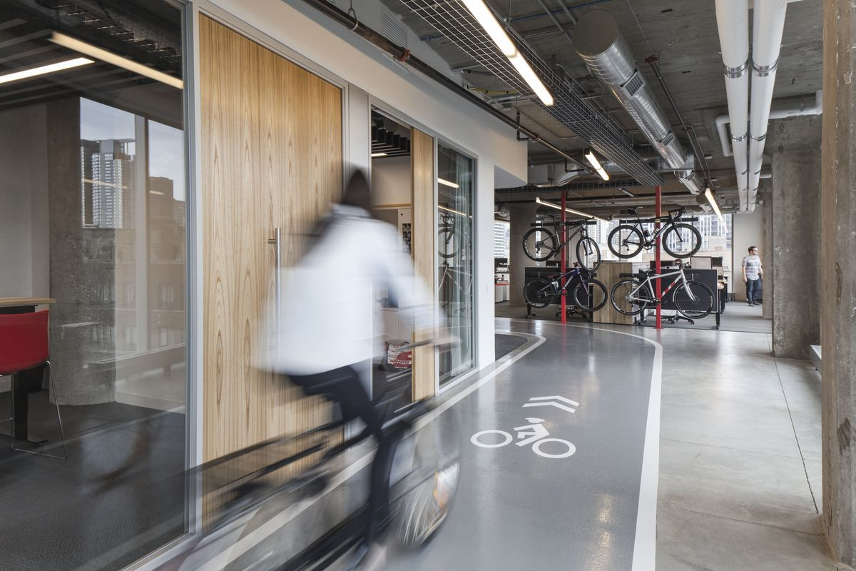 Take A Ride Through Sram S New Chicago Hq Curbed Chicago