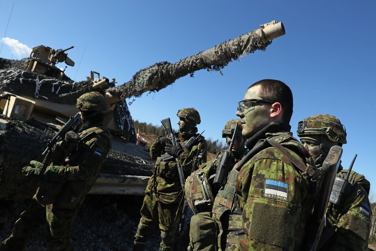US Troops Participate In Estonia Exercises