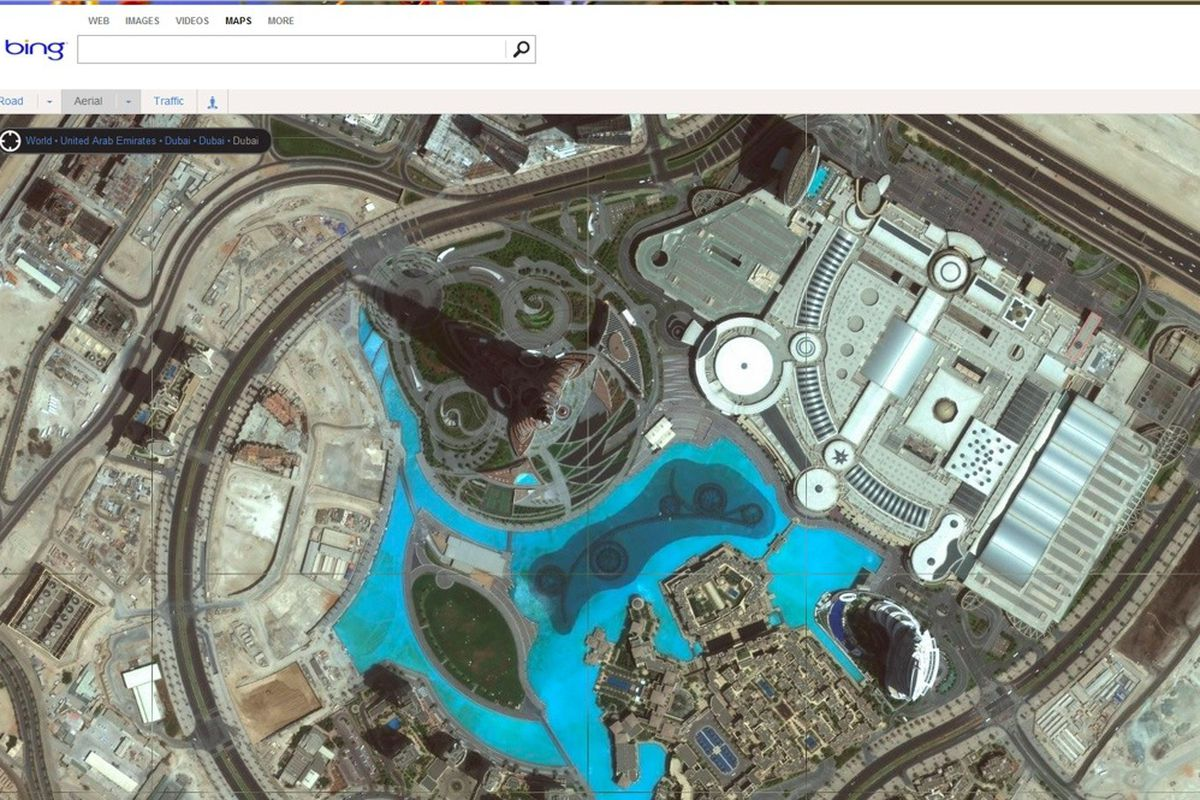 Bing Maps Updated With 165TB Of New High-resolution