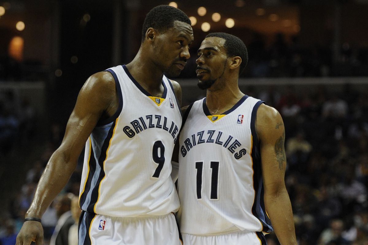 Mike Conley and Tony Allen will likely continue to be key cogs in the Grizzlies' back court.