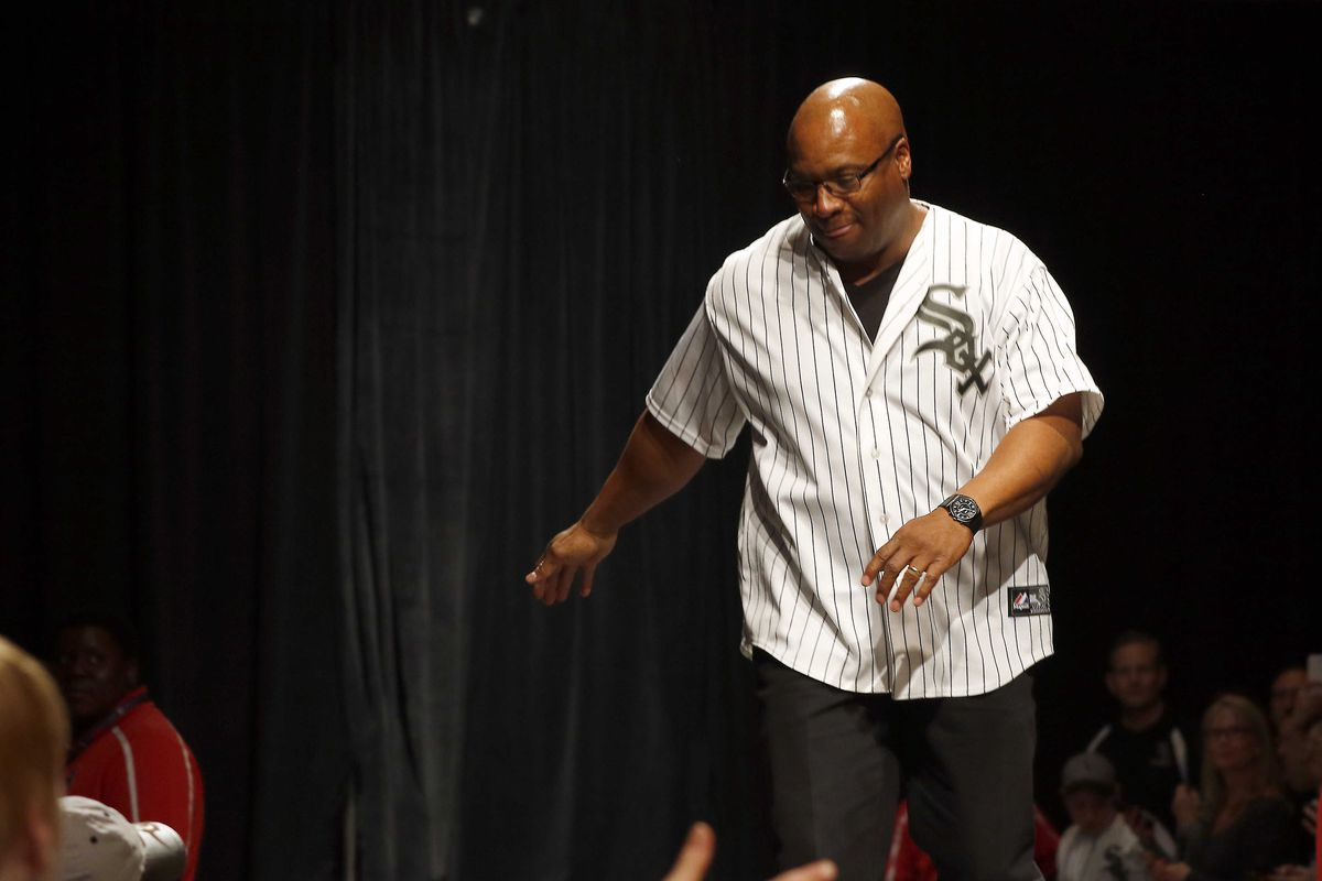 Bo Jackson, pictured at the White Sox fan convention in 2017. Jackson is part of an investment group aiming to open a casino in Calumet City.