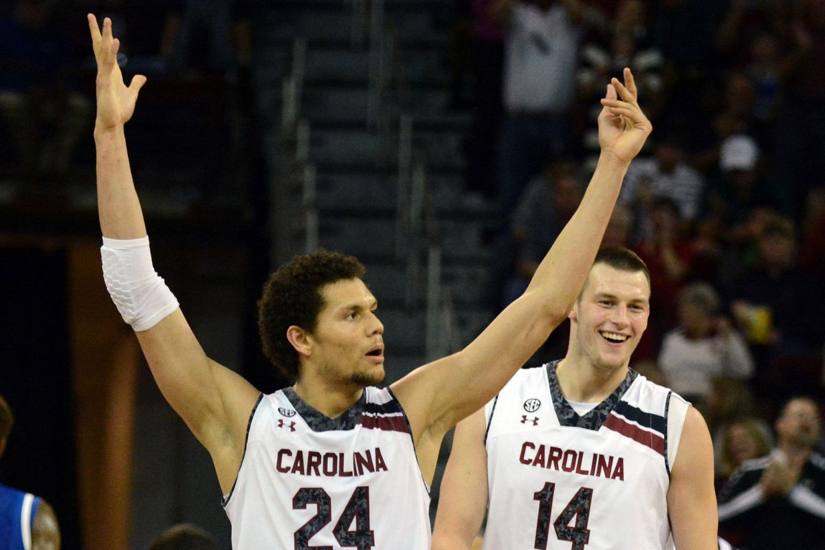 Michael Carrera and Laimonas Chatkevicius look to do some more celebrating this week in Atlanta.