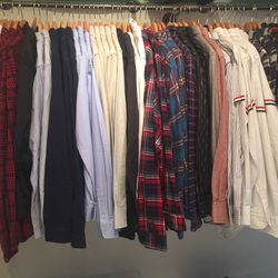 A selection of men's clothing