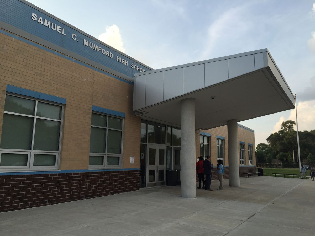 Among schools that could be closed by the state is Mumford High School which moved into a new $50 million building in 2012.