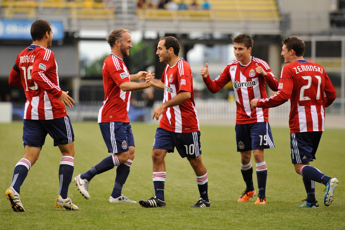 None of these players from 2011 still play for Chivas USA.