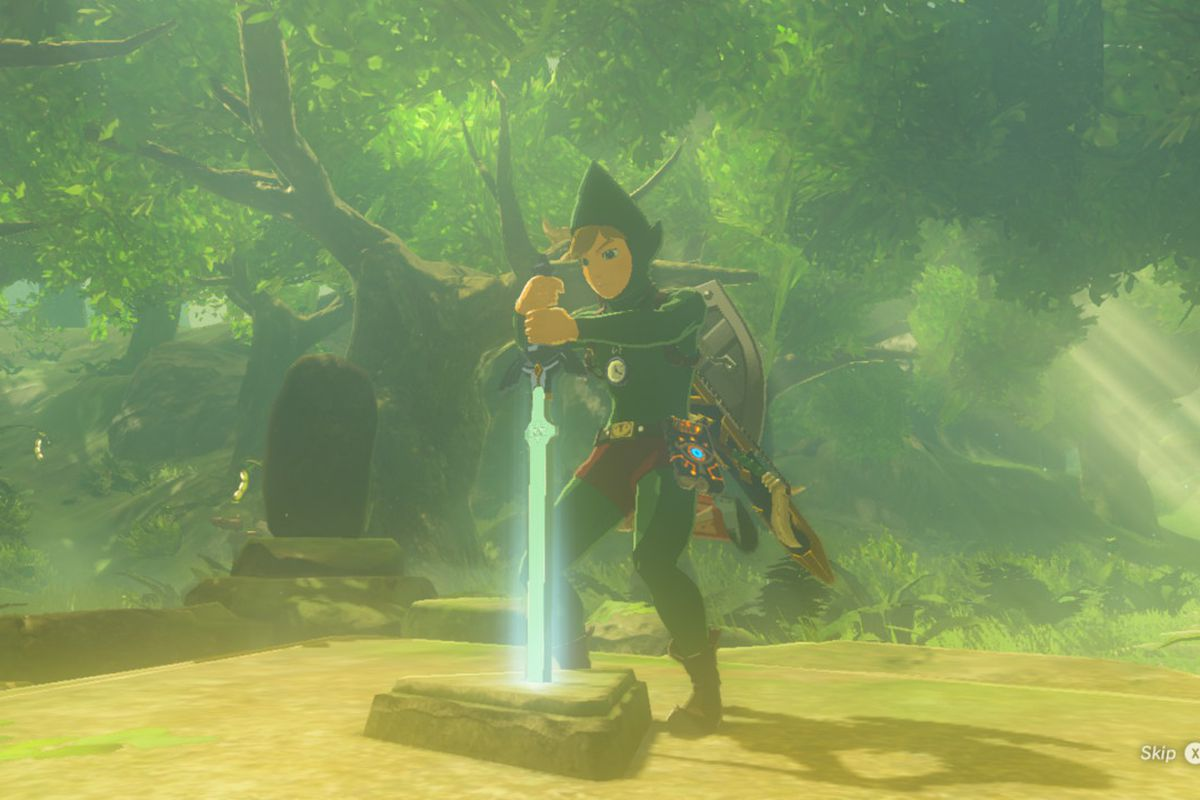 Tingle's Clothes and the Trial of the Sword