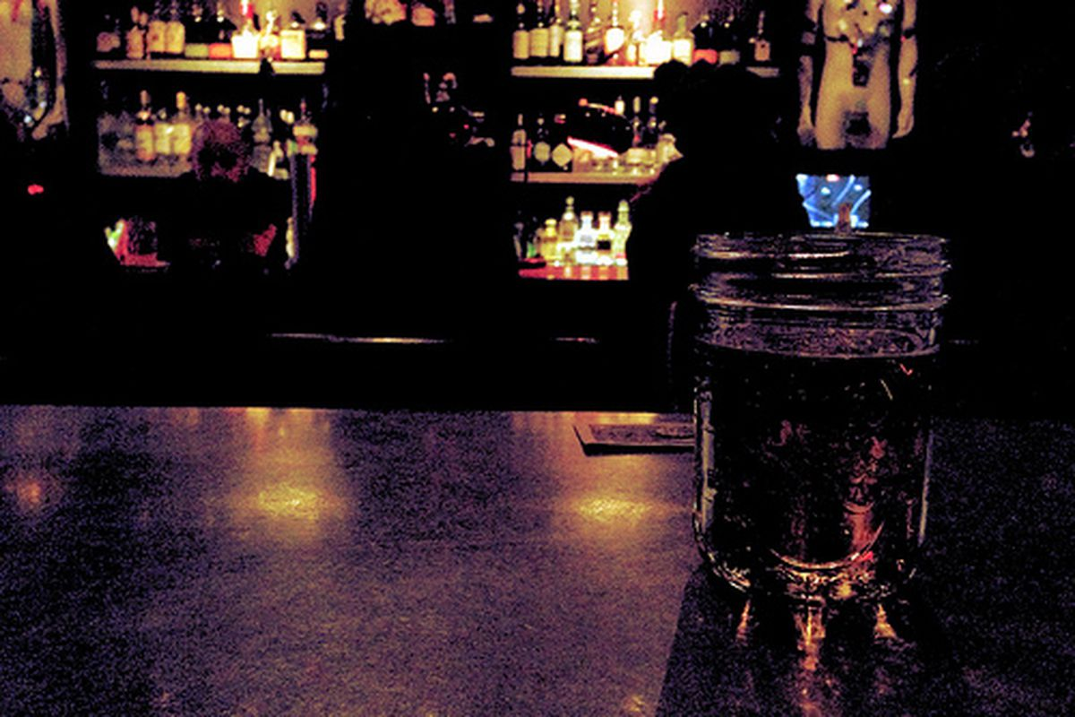 A drink at Dr. Teeth.