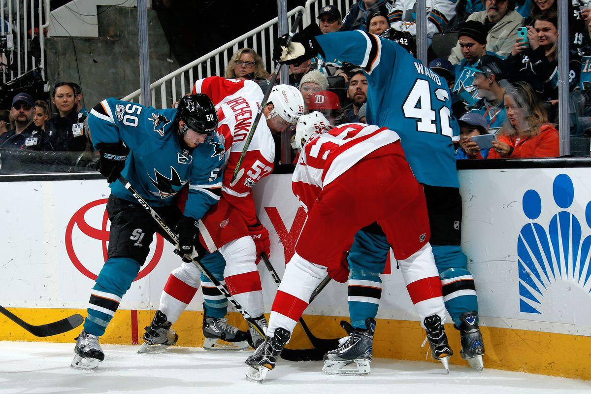 Detroit Red Wings v San Jose Sharks