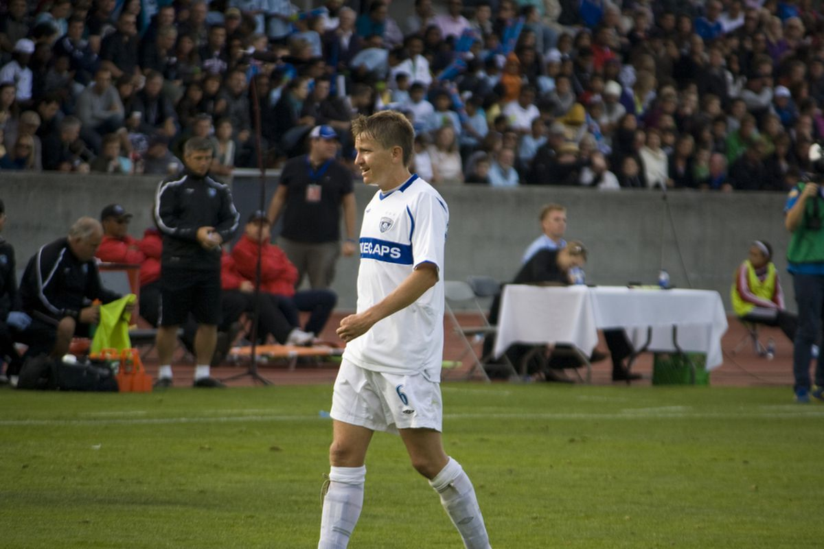 The Whitecaps latest, but not their only, senior international callup. (Benjamin Massey/Eighty Six Forever)