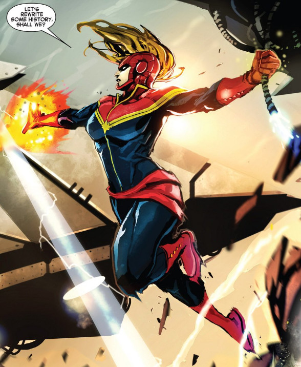 Avengers: Infinity War sets up Captain Marvel and the future