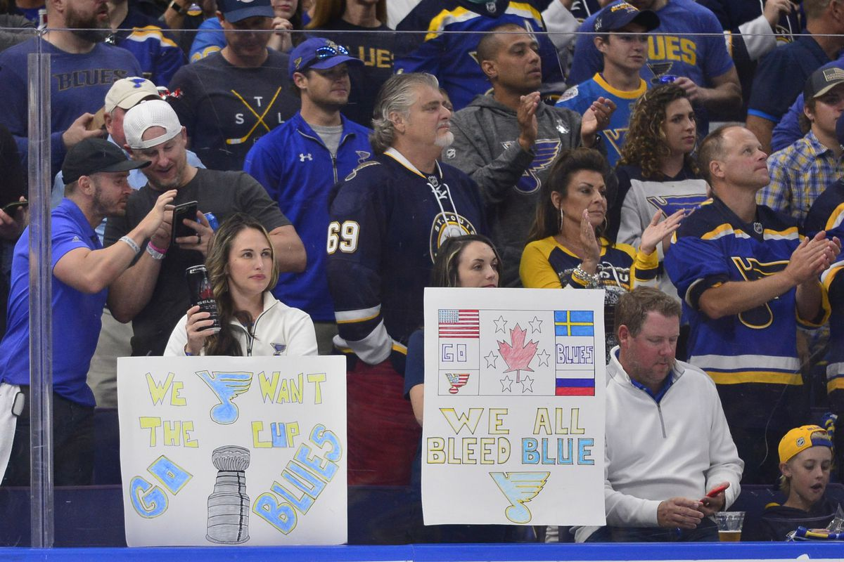 Thank you, St. Louis Blues fans - St. Louis Game Time on