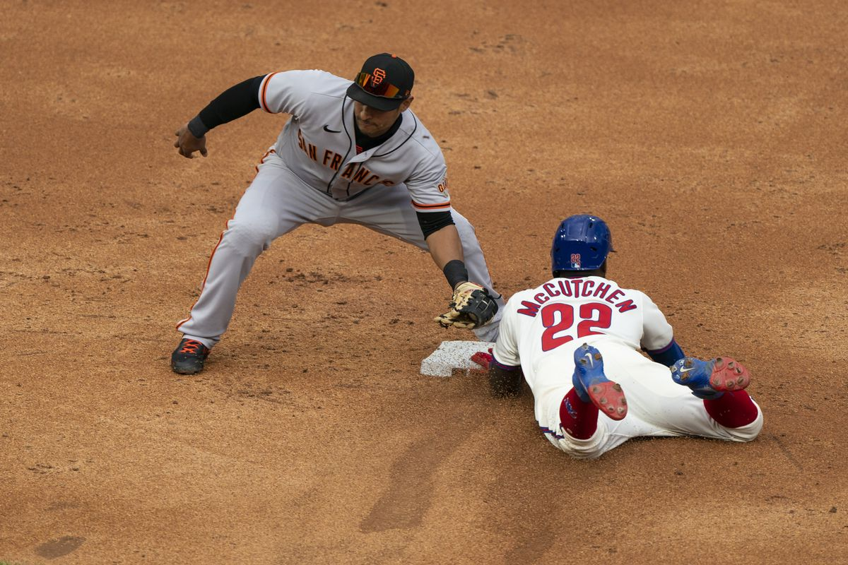 MLB: APR 21 Giants at Phillies