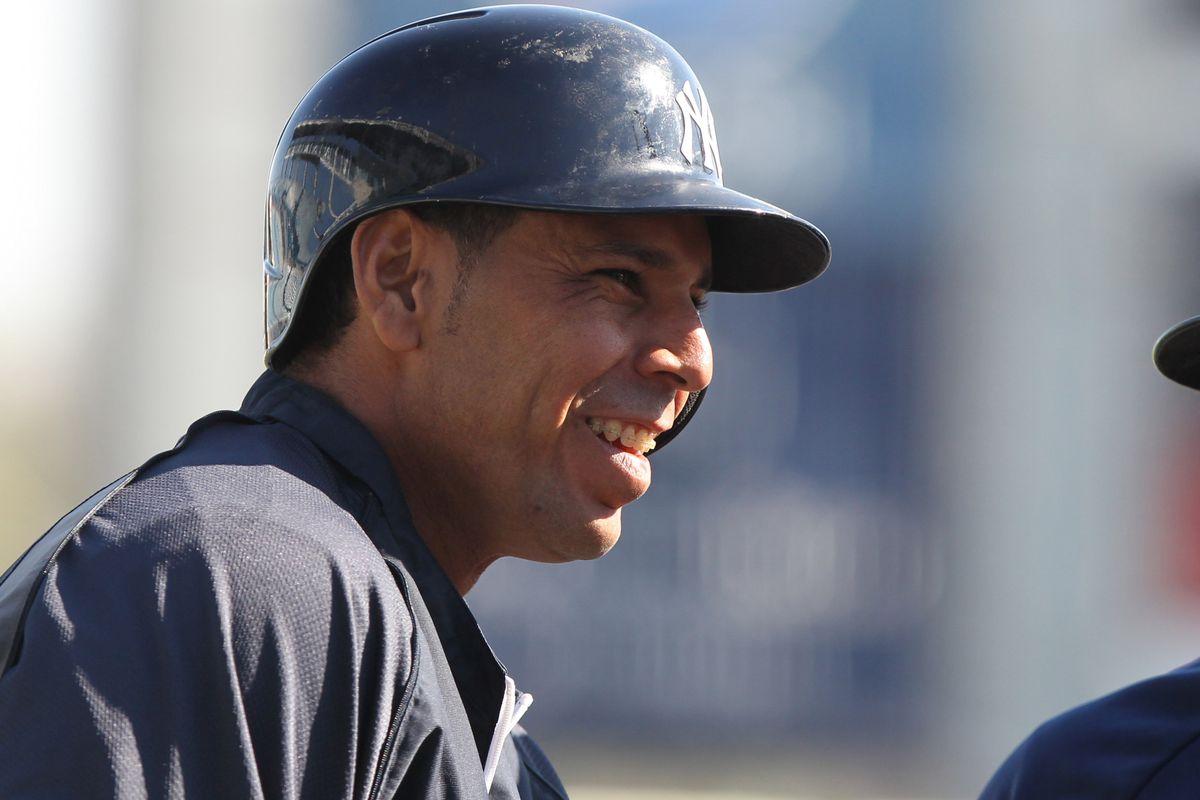 Veteran outfielder Juan Rivera is holding down an insurance job for Reno.