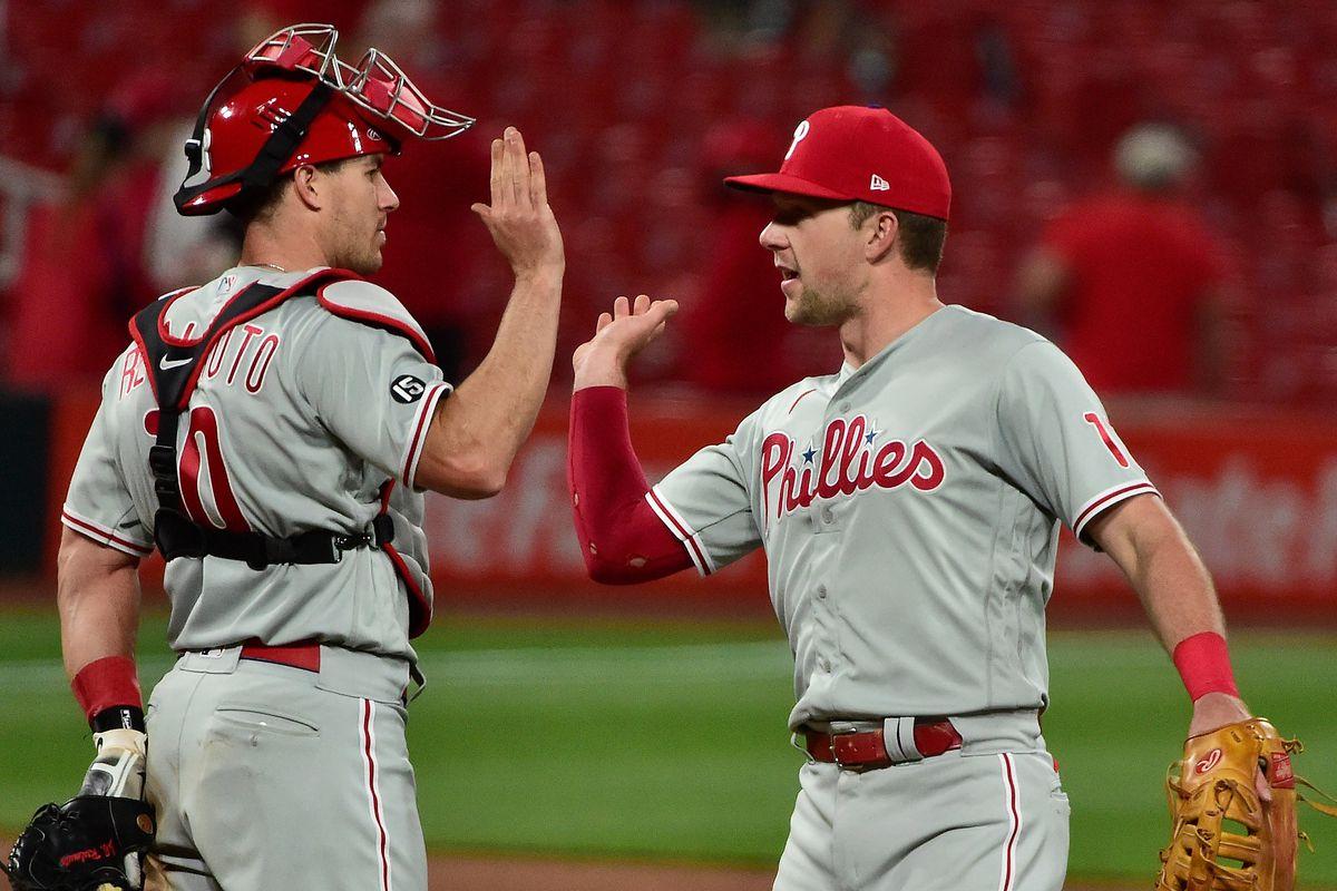 MLB: Philadelphia Phillies at St. Louis Cardinals