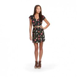 Tucker for Target Button-Front Dress in Floral Print $34.99