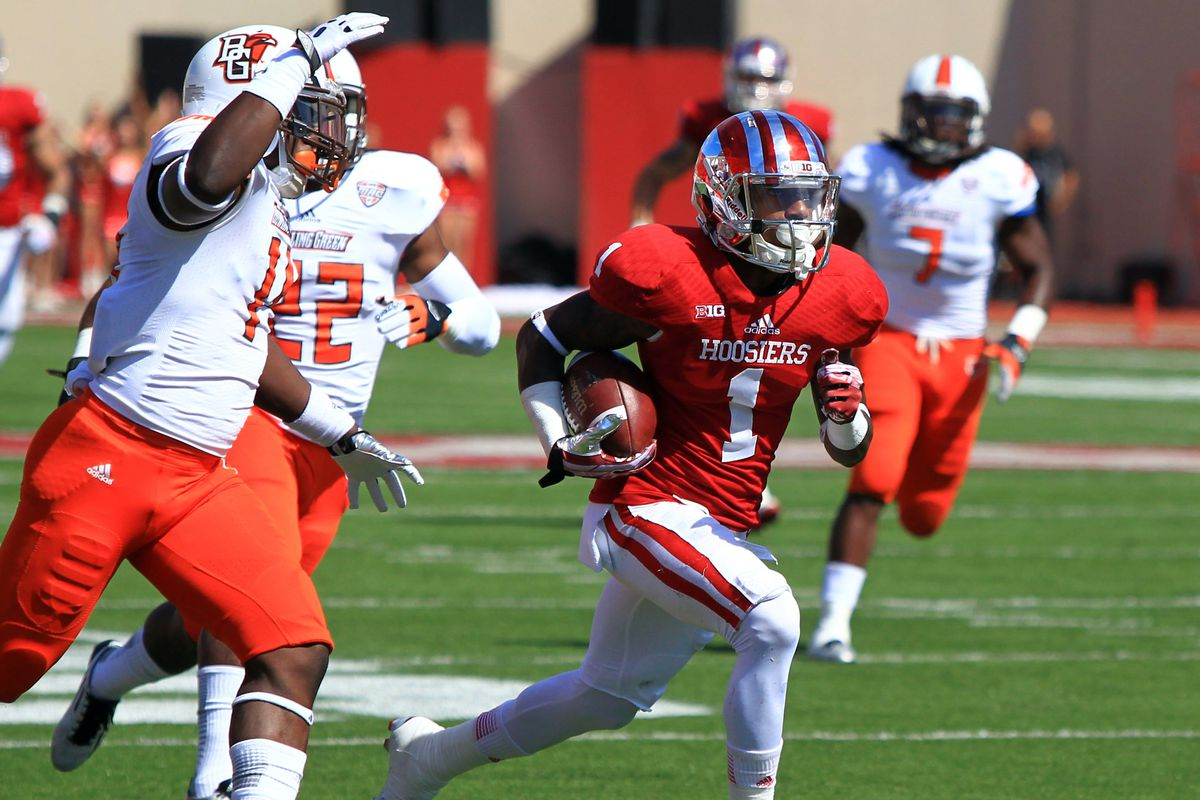 The Hoosiers and the Falcons face off September 13, this time at Doyt L. Perry Stadium.