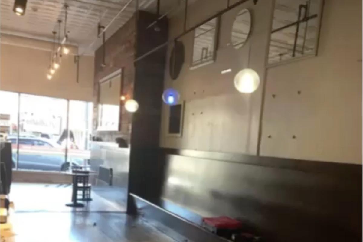 iYo Bistro, under renovation in Davis Square