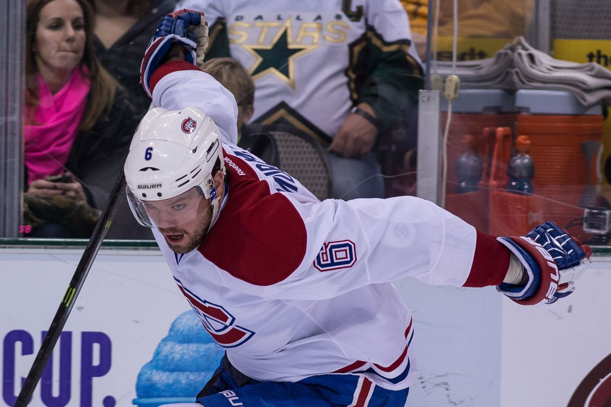 Douglas Murray's last NHL team was the Montreal Canadiens.