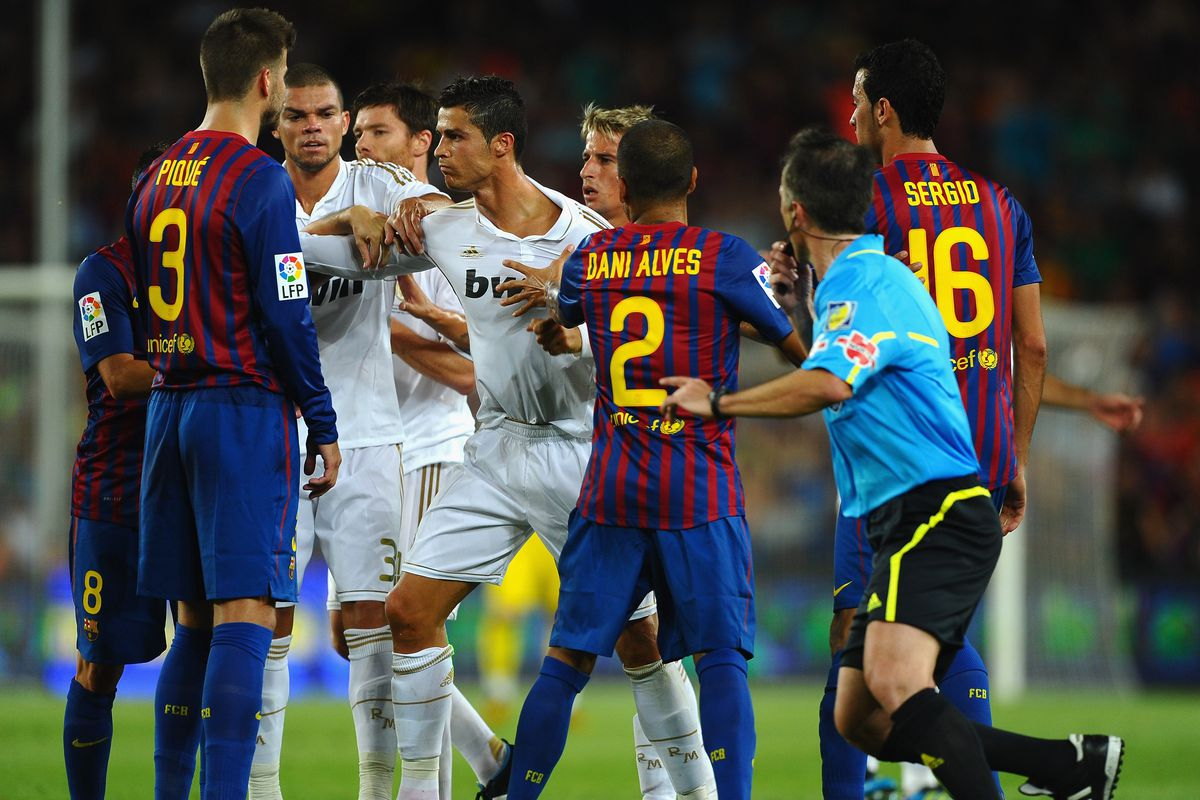 Remembering The 2011 Spanish Supercup Between Real Madrid And Barcelona Managing Madrid