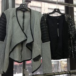 Generation Love jackets with slight defects, $75