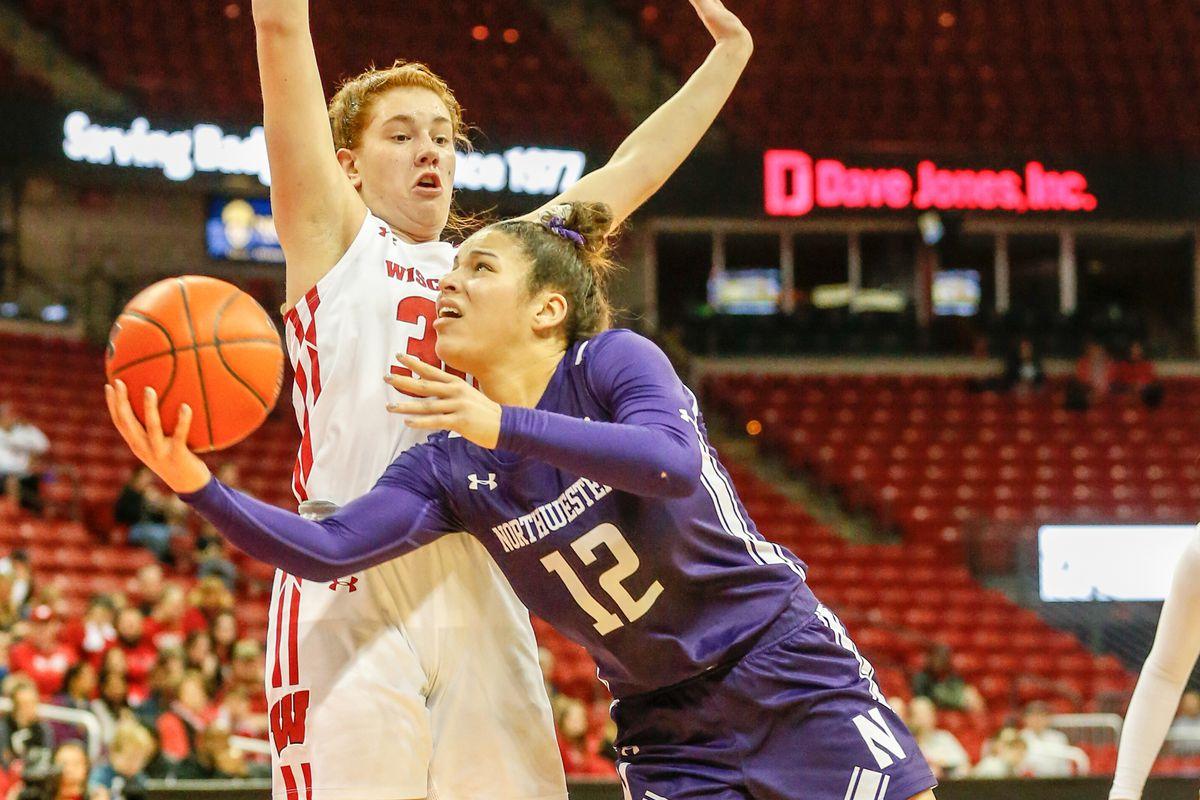 COLLEGE BASKETBALL: FEB 22 Women's Northwestern at Wisconsin