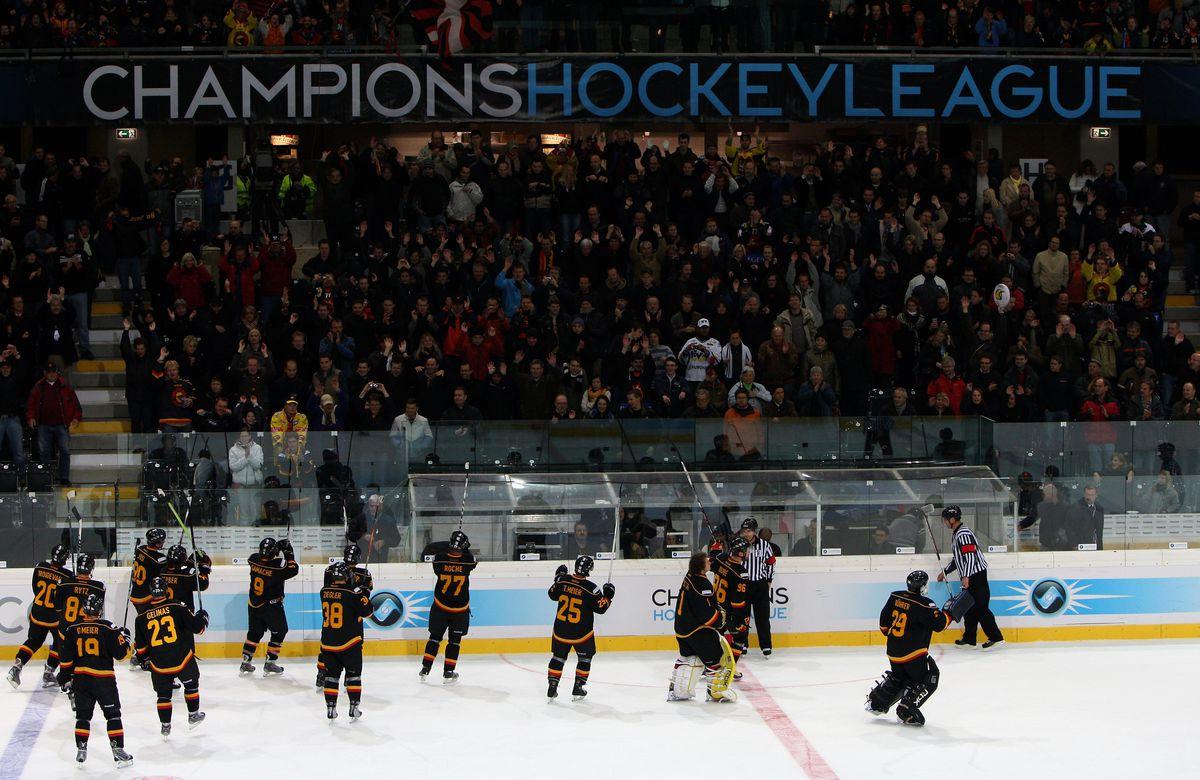SC Bern v HV71 Jonkoping - IIHF Champions Hockey League
