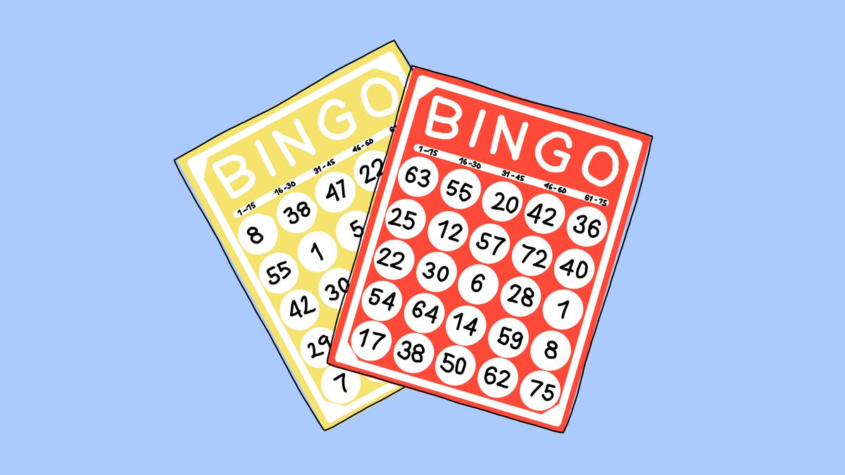 An illustration of bingo cards.