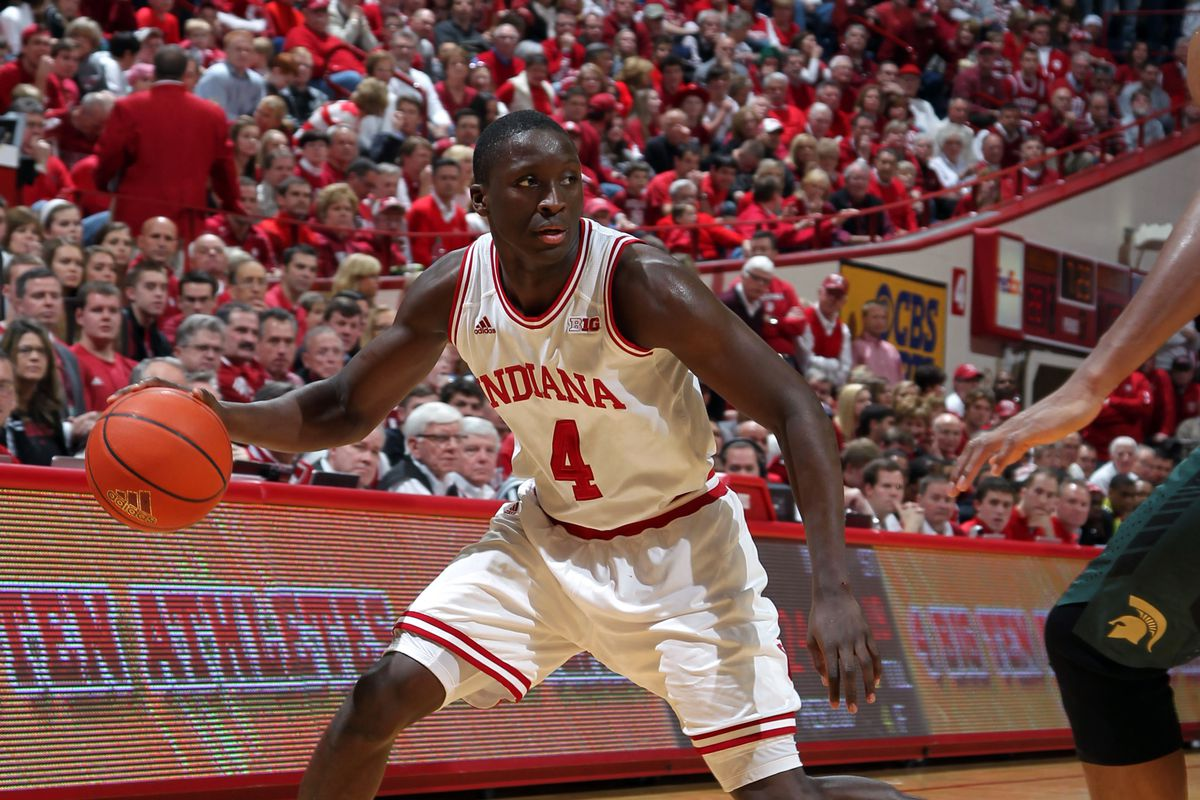 Victor Oladipo was a menace on both ends of the floor as Indiana picked up a win over Michigan State.