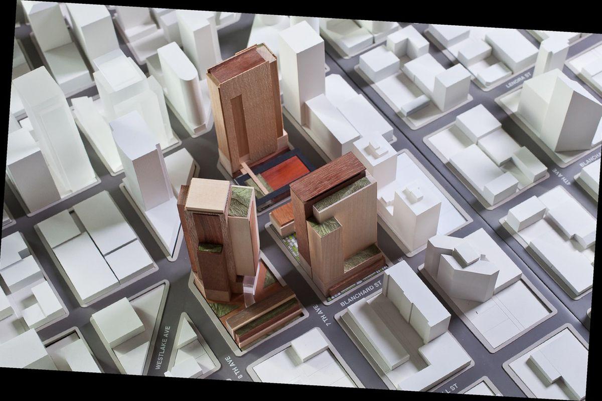 Amazon Seattle HQ model