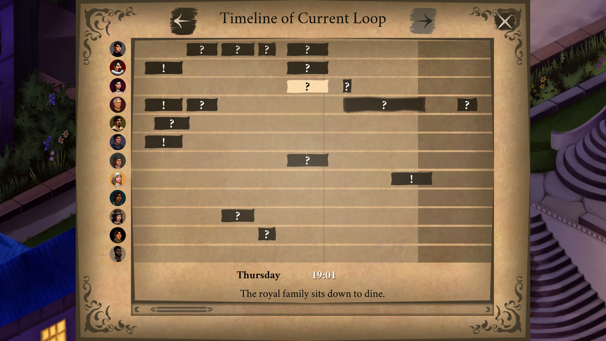Elsinore - A look at the timeline system