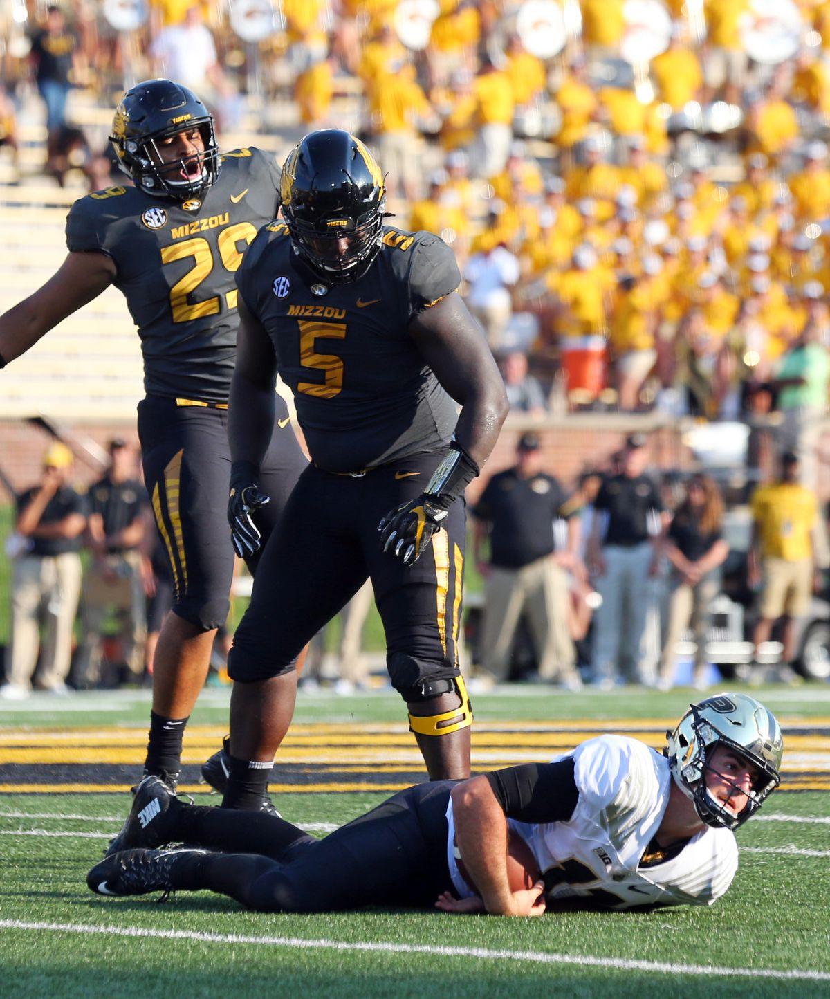 NCAA Football: Purdue at Missouri