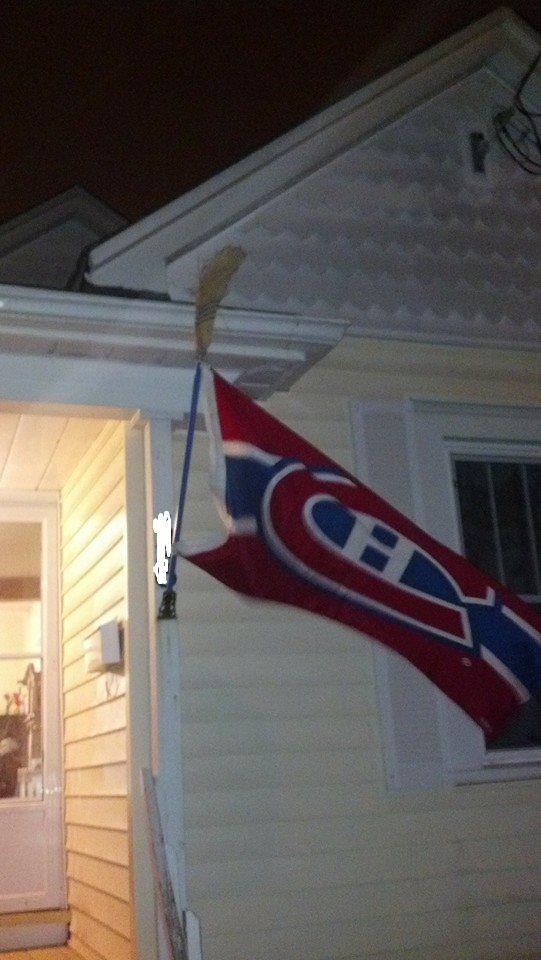 flag broom