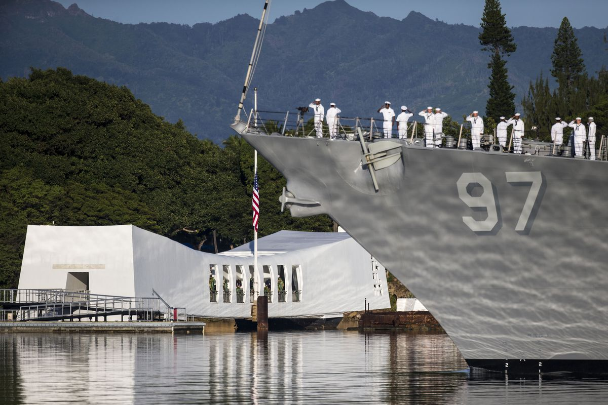 75th Commemoration Of Attacks On Pearl Harbor Held In Hawaii