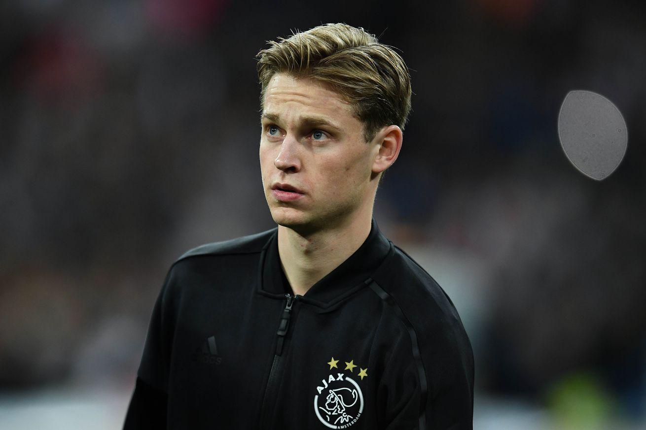 Frenkie de Jong injured for Ajax