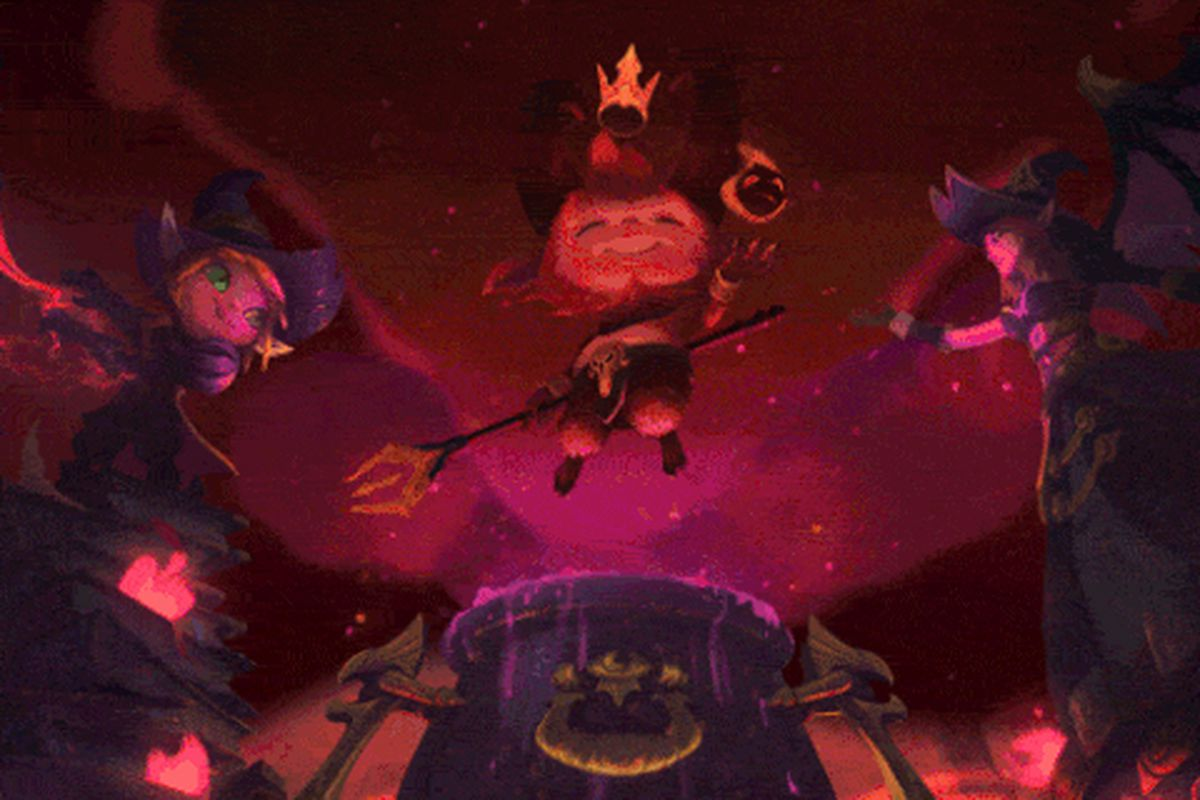 Teemo Is A Demon Tristana And Morgana Are Witches For This Year S Harrowing The Rift Herald