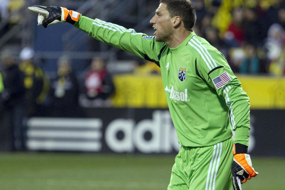 Things haven't gone that well in Columbus this season, but former back-up GK Andy Gruenebaum is having a breakout season for one of the best defensive teams in MLS.