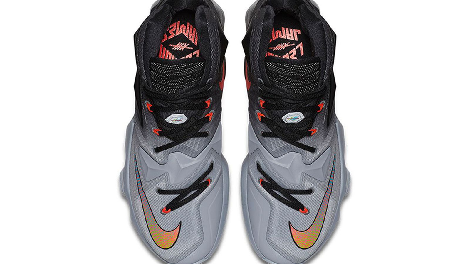 new product 36352 e2f50 ... basketball 6ed63 60ac8  australia cavs kicks nike lebron 13 on court  90df7 22918