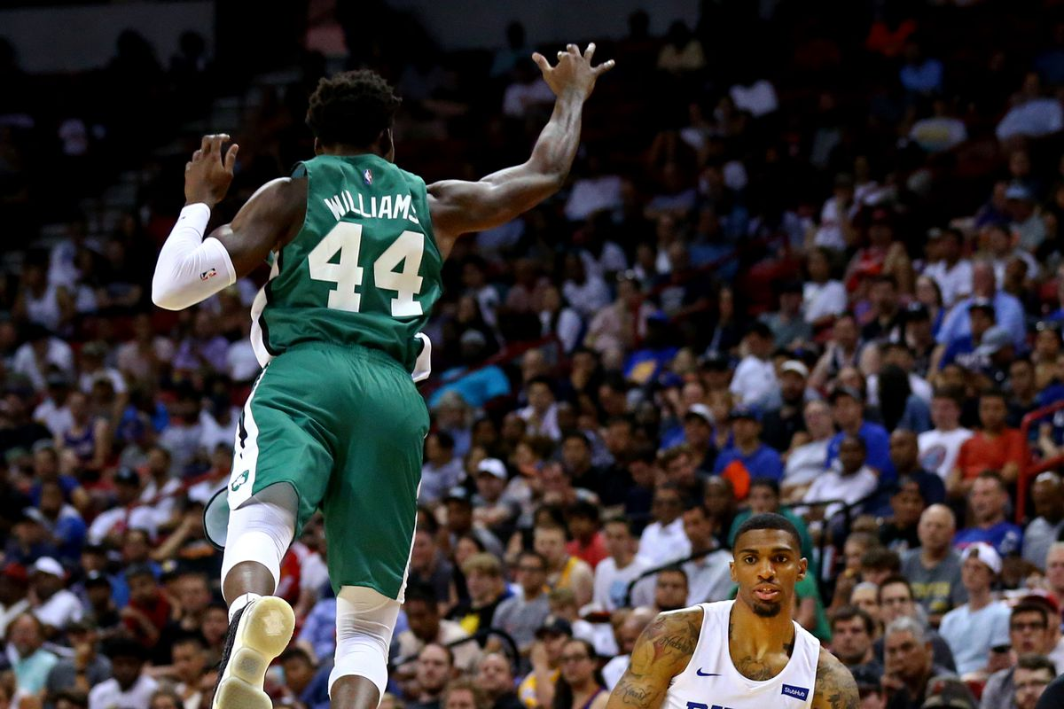 best sneakers 9dae4 fac79 Magic number: can Robert Williams make big strides with ...