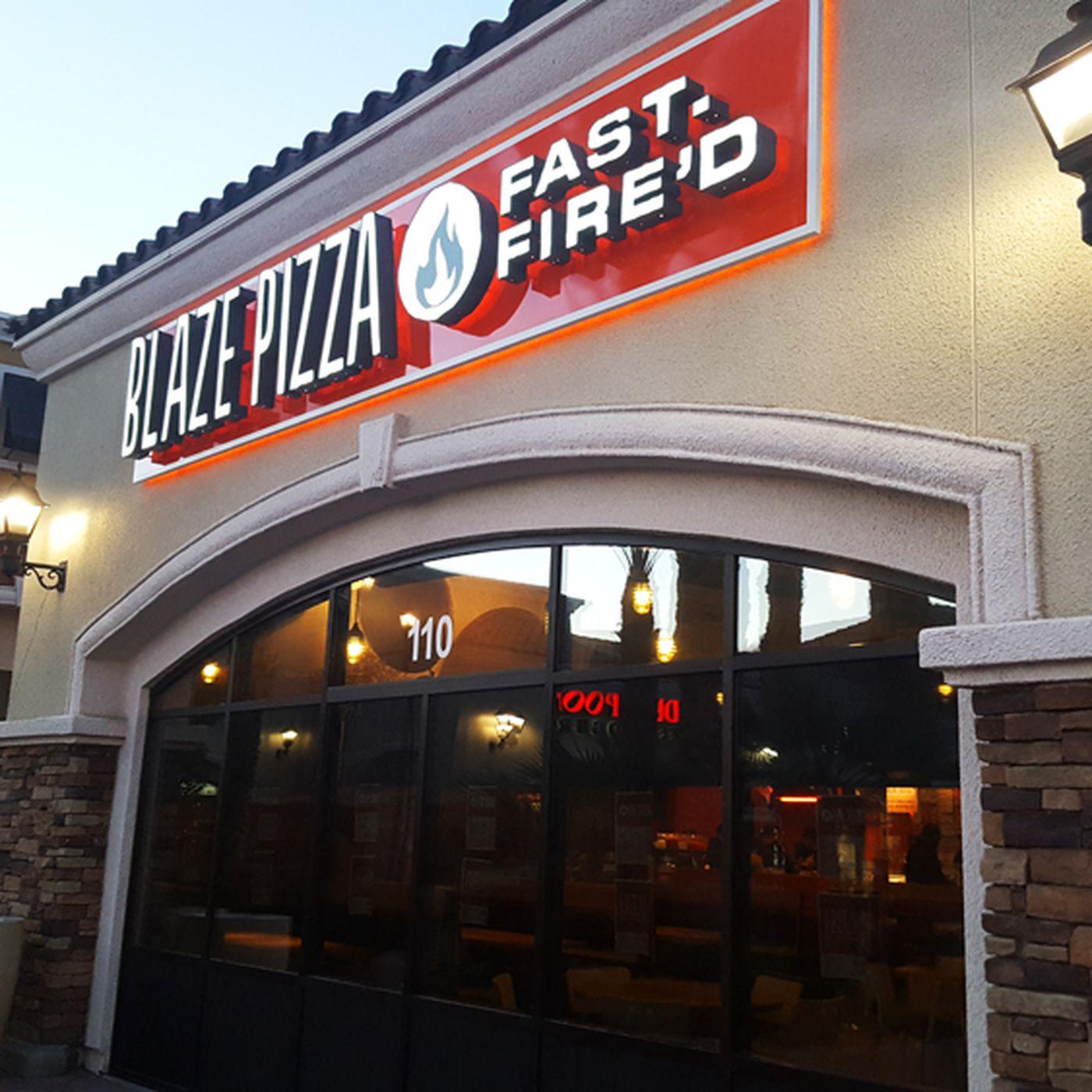 Blaze Fast Fire'd Pizza Debuts in Centennial - Eater Vegas