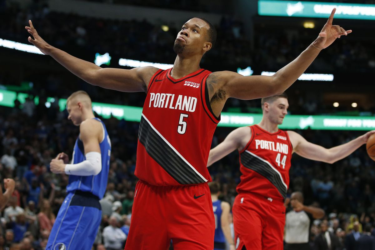 Image result for rodney hood blazers usa today