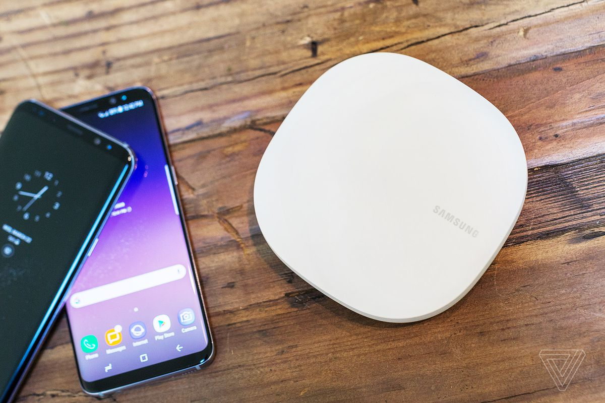 Samsung is also making mesh wi fi routers but they work with photo by vjeran pavic the verge greentooth Image collections