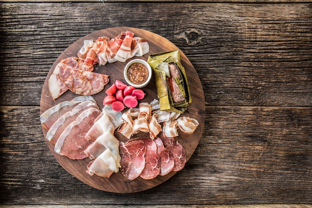 Underbelly Charcuterie Plate