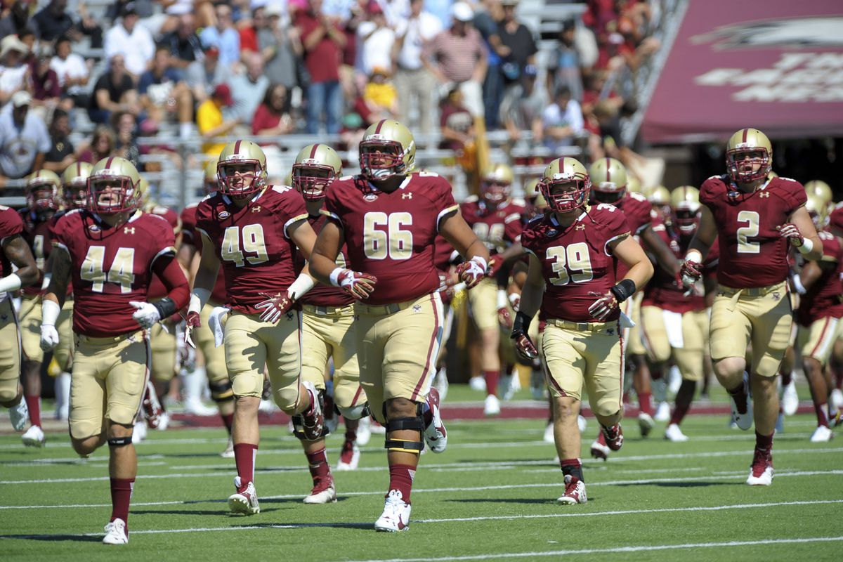 BREAKING Boston College Football Ranked 23rd in AP Poll First National Ranking Since November 30th 2008 The Eagles had been absent from the rankings for nearly a