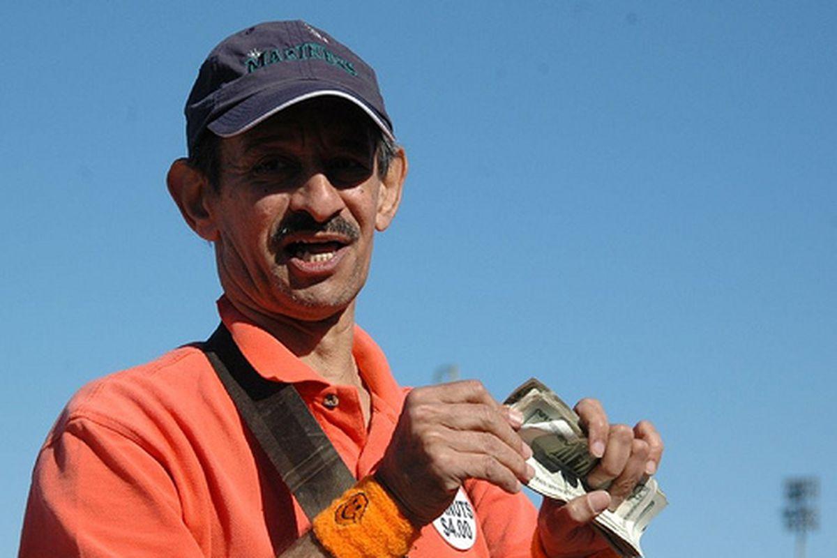"Mariner's spring training 3-3-2007 # (127) (via <a href=""http://www.flickr.com/photos/marksobba/413100189/"">Mark Sobba</a>)"