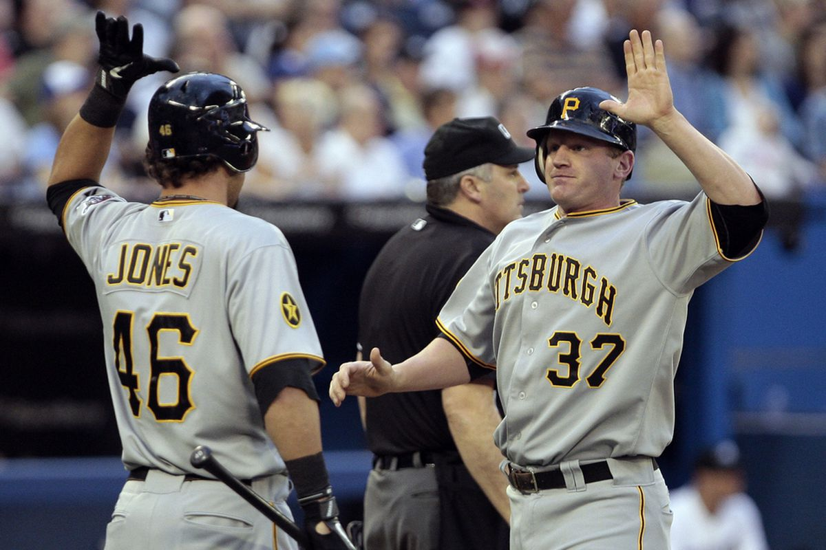 The Pirates have done a lot more high-fiving this year.